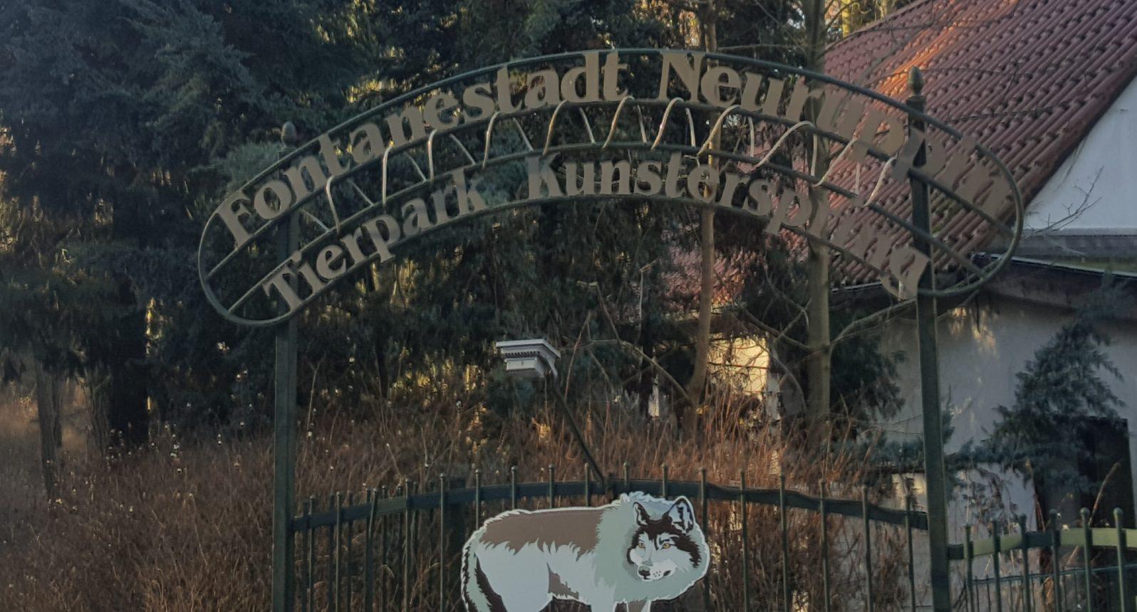 Eingang Tierpark Kunsterspring