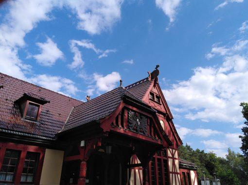 Kaiserbahnhof in Joachimsthal, Brandenburg