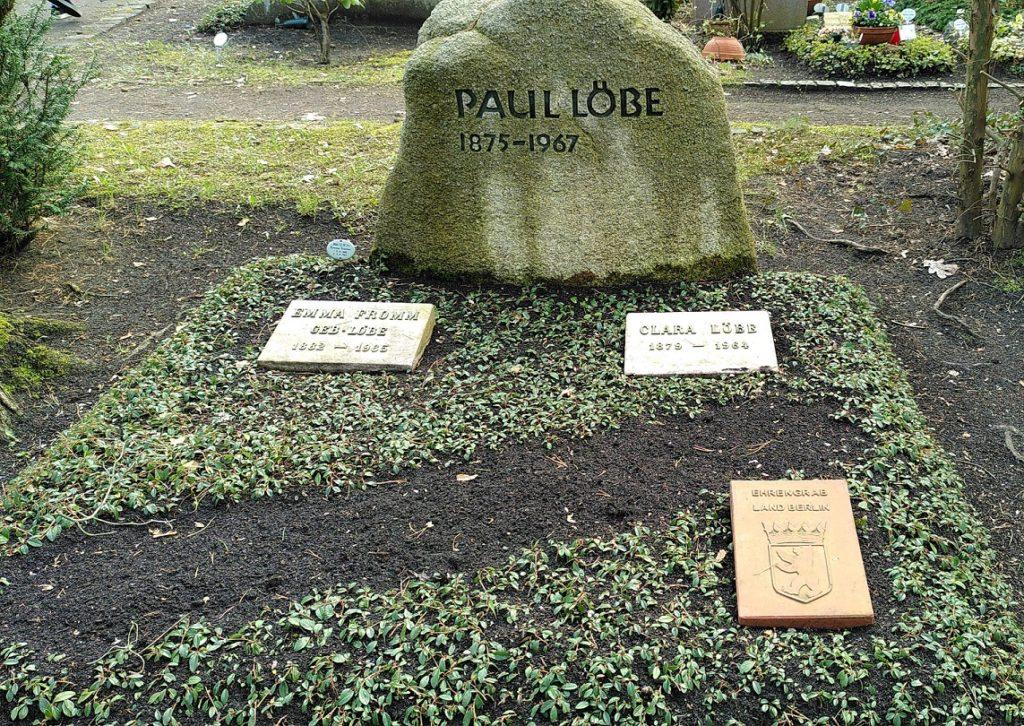 Grabstätte von Paul Löbe.